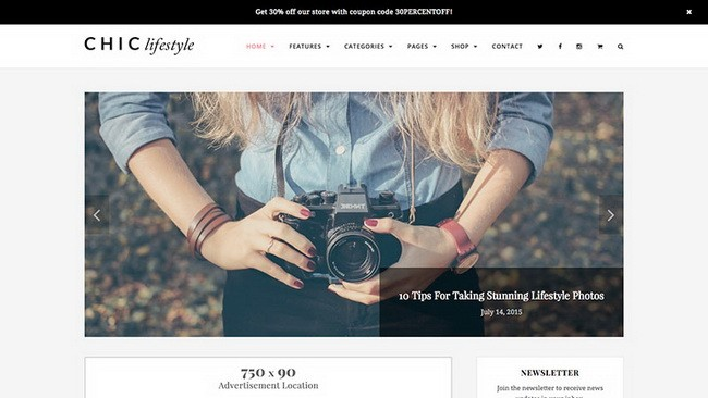 01-chic-wordpress-theme