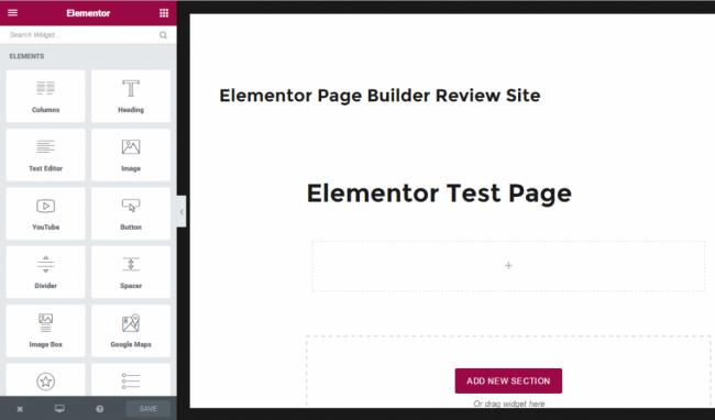 Elementor — бесплатный Page Builder для WordPress с открытым исходным кодом