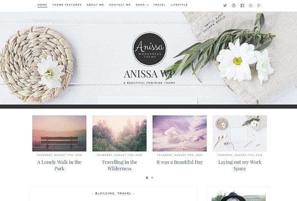 Бесплатная тема Anissa для магазина на WooCommerce