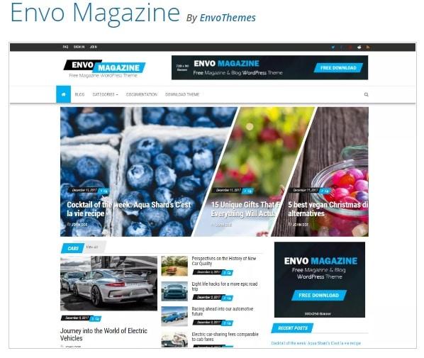 тема WordPress Envo Magazine
