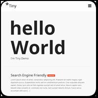 10 бесплатных ультра-минималистичных тем для WordPress