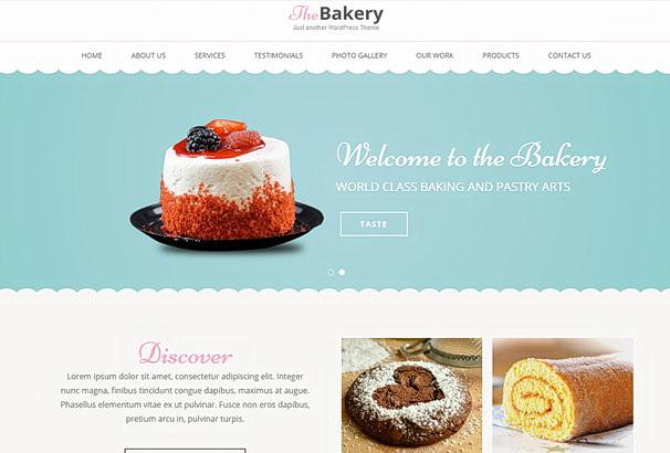 Бесплатная тема Bakes and Cakes для магазина на WooCommerce