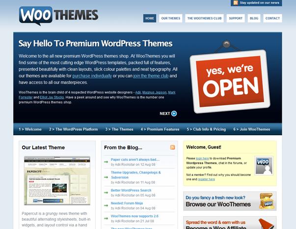 1151 Как  менялся дизайн WordPress за 15 лет