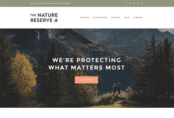 Бесплатная тема Naturelle для магазина на WooCommerce