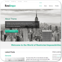 17 крутых и бесплатных тем WordPress для бизнес-сайта на 2014 год