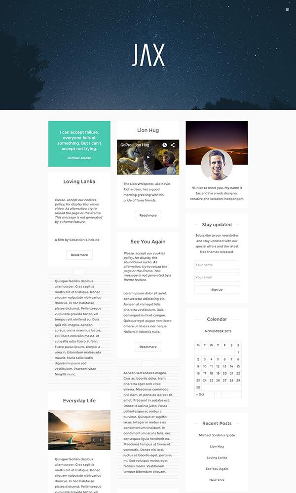 18-jax-free-responsive-creative-wordpress-theme