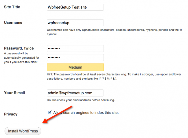 Как установить WordPress локально на Mac с помощью MAMP