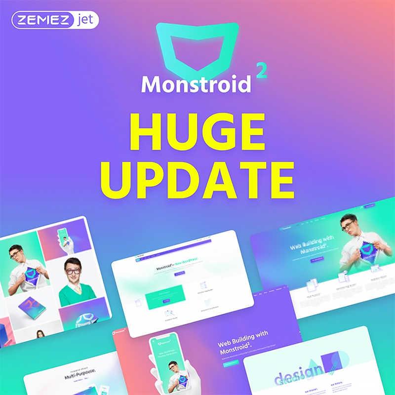 Monstroid2 - многоцелевой WordPress шаблон