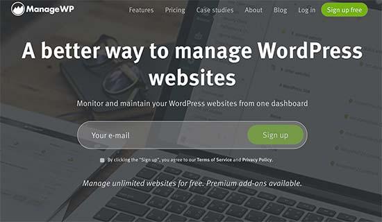 Bir paneldan bir nechta WordPress saytlarini boshqarish