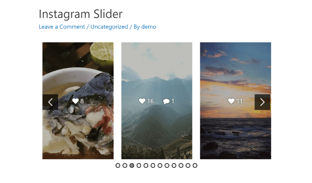 Instagram uchun WordPress plaginlari