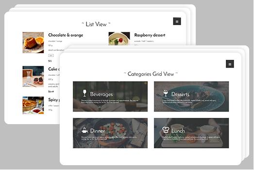 restoranlar uchun bepul WordPress plaginlari