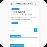 Обзор WP Mobile Menu: создайте лучшее мобильное меню для сайта WordPress