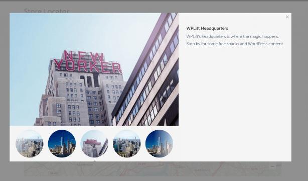 WordPress saytidagi do'kon lokatori