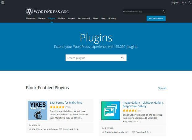 Ishga tushirish uchun WordPress xususiyatlari