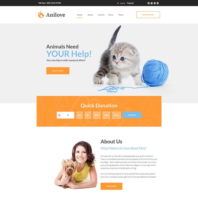 WordPress шаблон Anilove