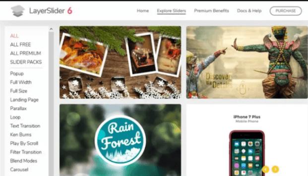 Eng yaxshi bepul va premium WordPress Slider plaginlari to'plami
