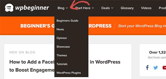 WordPress-da ochiladigan menyu qanday yaratiladi: yangi boshlanuvchilar uchun qo'llanma