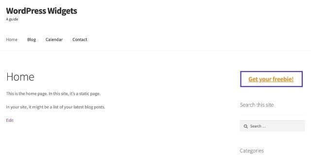WordPress mavzusiga yangi vidjet maydonini qanday qo'shish va vidjetlarni qanday kodlash kerak