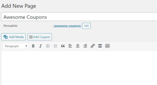 WordPress-da kupon saytini qanday yaratish kerak