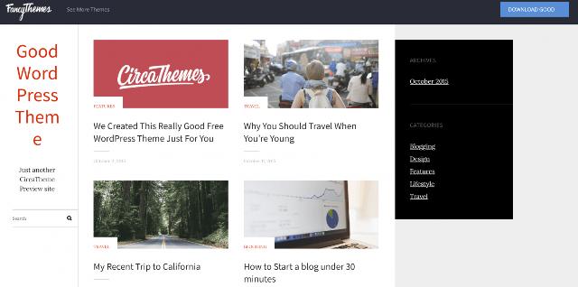 javob beradigan bepul WordPress mavzulari