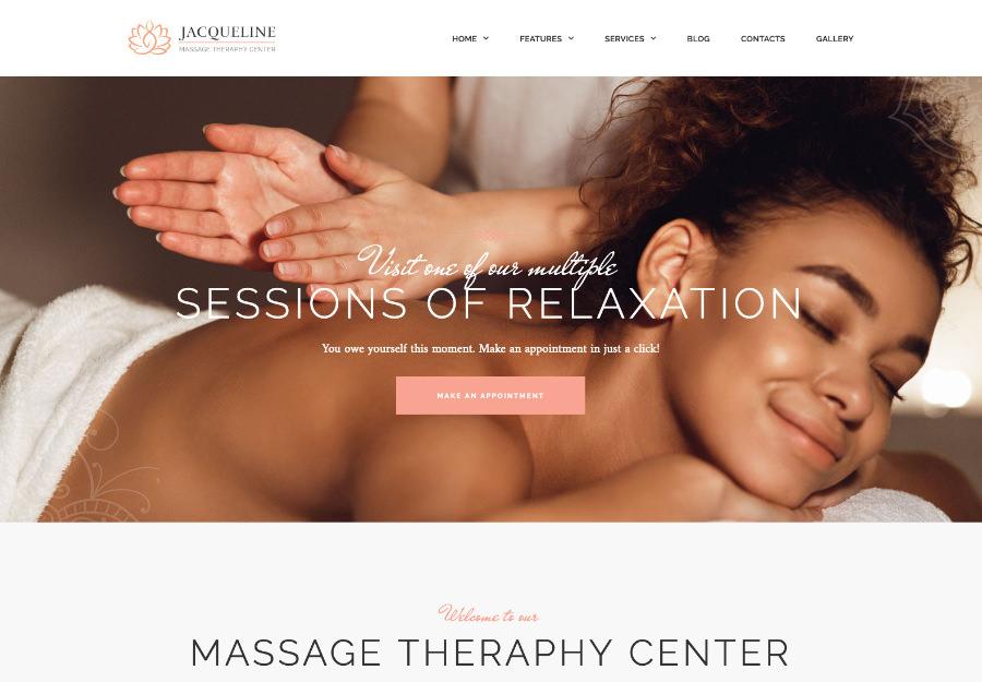 "Jaklin - ""Spa & Massage Salon Elementor"" shablon to'plami"