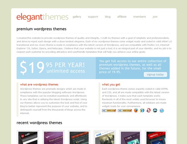 213 Как  менялся дизайн WordPress за 15 лет