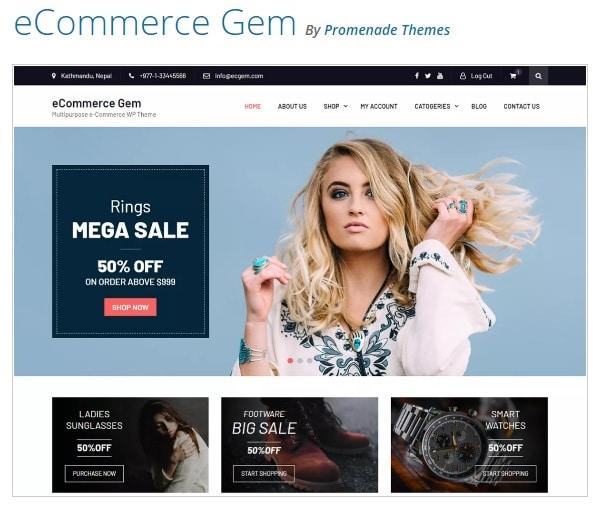 eCommerce Gem