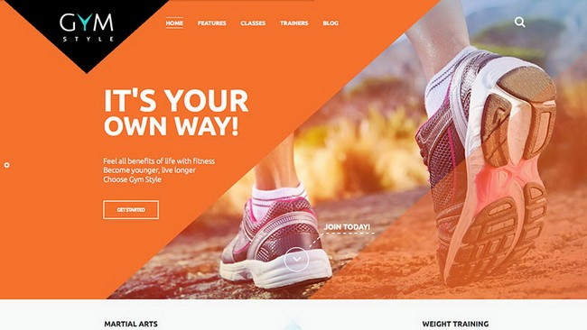 23-gym-style-wordpress-theme