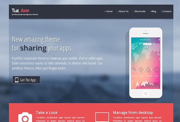 Бесплатная тема The App для магазина на WooCommerce