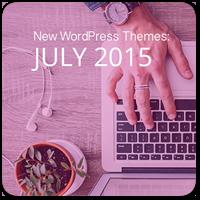 30 новых премиум тем WordPress за июль 2015