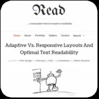 35 минималистичных тем WordPress с красивой типографикой