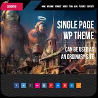 35 бесплатных и платных тем WordPress для одностраничных сайтов-визиток