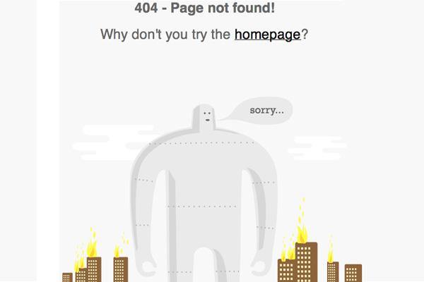 Как создать простую страницу ошибки 404 для WordPress