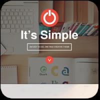 40 простых и стильных 'One-Page' тем для WordPress