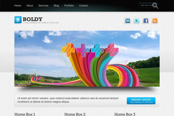 boldy premium wordpress theme