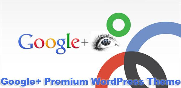 google+ wordpress theme