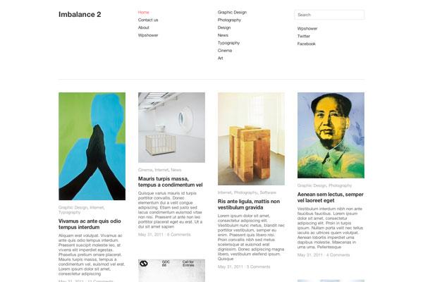 imbalance 2 premium wordpress theme