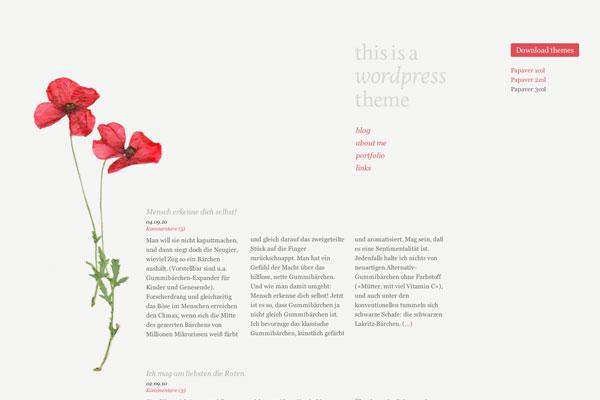 papaver premium wordpress theme