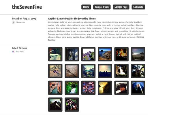 seven five premium wordpress theme