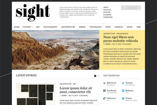 sight premium wordpress theme