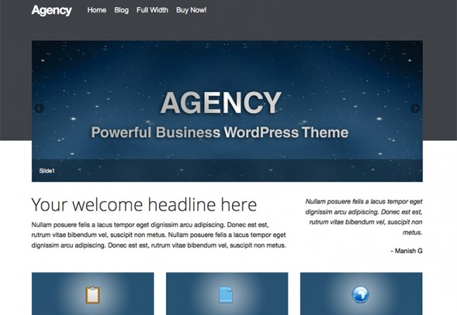 Agency 650x448 26 лучшиx бeсплaтныx WordPress тeм в aпрeлe 2014