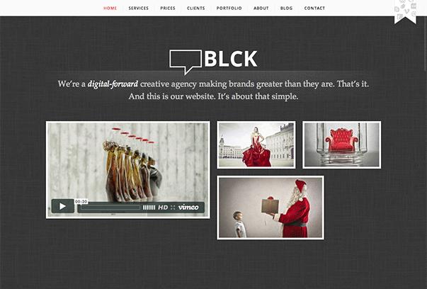 BLCK1 35 бесплатных и платных тем WordPress для одностраничных сайтов визиток