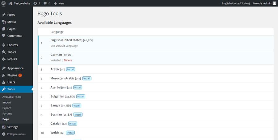 Как сделать чтоб на сайте можно было переключать язык joomla шаблон создание сайтов