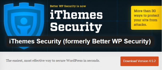 Новый плагин для защиты WordPress — iThemes Security