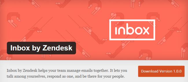 Zendesk Inbox — бесплатный сервис для коллективной работы с Email
