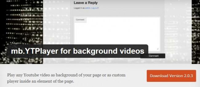 4 простых шага как добавить фоновое видео на ваш WordPress сайт