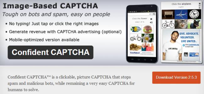 Capture312 650x301 Лучшие плагины CAPTCHA для вашего WordPress сайта