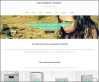 Classique — элегантная тема WordPress для блога или личного сайта