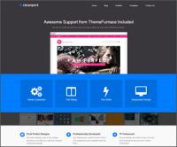 CleanPort — новая доступная тема WordPress для бизнеса и портфолио