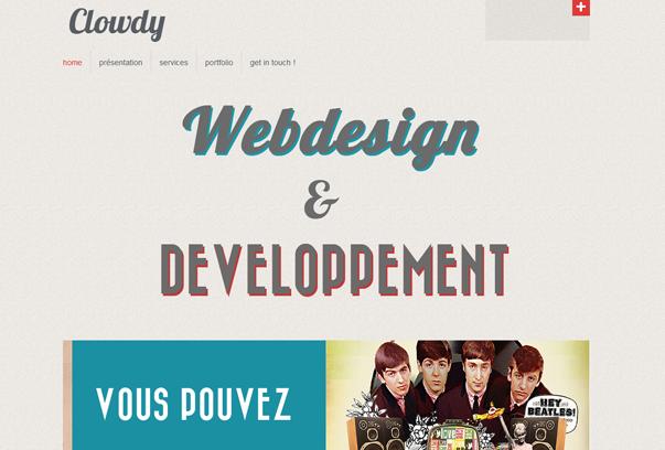 Clowdy 30 самых необычных и красивых сайтов, сделанных на WordPress по версии WPlift.com